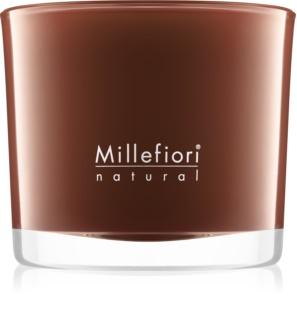 Millefiori Natural Vanilla and Wood Αρωματικό κερί 180 γρ