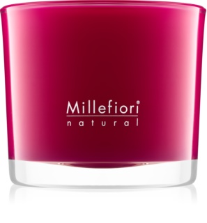 Millefiori Natural Grape Cassis Scented Candle 180 g