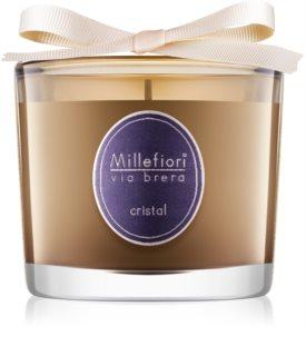 Millefiori Via Brera Cristal Duftkerze  180 g