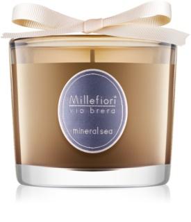 Millefiori Via Brera Mineral Sea ароматна свещ  180 гр.