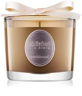 Millefiori Via Brera Sandalwood bougie parfumée 180 g
