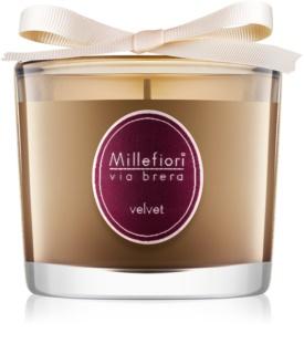 Millefiori Via Brera Velvet vela perfumado 180 g