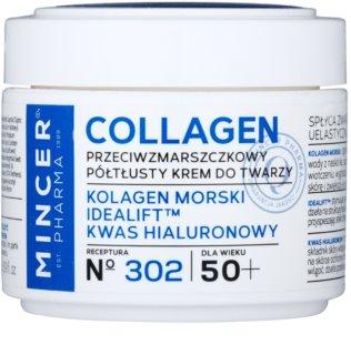 Mincer Pharma Collagen N° 300 crema antiarrugas 50+