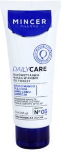 Mincer Pharma Daily Care N° 00 mascarilla iluminadora en crema