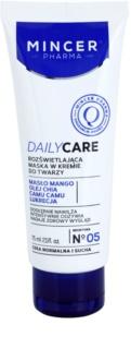 Mincer Pharma Daily Care N° 00 posvetlitvena kremasta maska