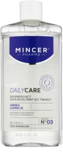 Mincer Pharma Daily Care N° 00 Mizellar-Reinigungswasser mit regenerierender Wirkung