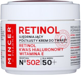 Mincer Pharma Retinol N° 500 crema reafirmante 50+