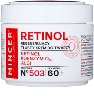 Mincer Pharma Retinol N° 500 crema regeneradora antiarrugas 60+