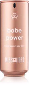 Missguided Babe Power Eau de Parfum voor Vrouwen  80 ml