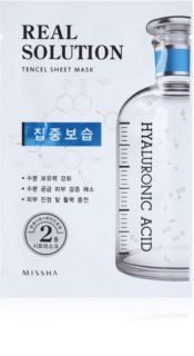 Missha Real Solution mascarilla hoja con efecto humectante