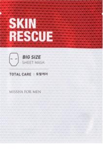 Missha For Men Skin Rescue тканинна маска проти зморшок для чоловіків