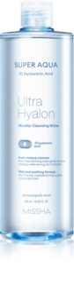 Missha Super Aqua 10 Hyaluronic Acid jemná čisticí micelární voda
