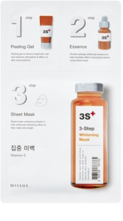 Missha 3-Step 3-Step Brightening Mask
