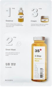 Missha 3-Step máscara nutritiva em 3 passos