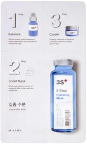 Missha 3-Step hidratáló maszk három lépésben