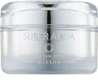 Missha Super Aqua Cell Renew Snail élénkítő krém csigakivonattal
