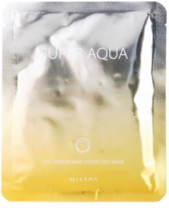 Missha Super Aqua Cell Renew Snail зволожуюча маска з екстрактом равлика