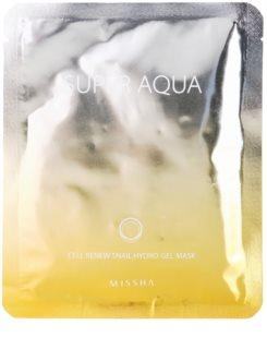 Missha Super Aqua Cell Renew Snail hydratačná maska  s extraktom zo slimáka