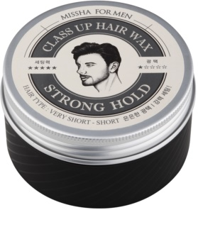 Missha For Men Class Up Hair Wax Haarwachs für starke Fixierung