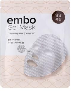 Missha Embo tápláló géles maszk