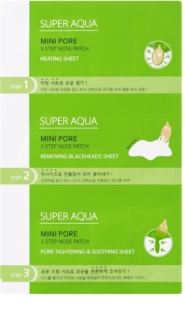Missha Super Aqua Mini Pore traitement tri-phasé anti-points noirs