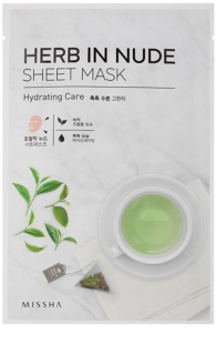 Missha Herb in Nude Sheet maska s hidratantnim učinkom