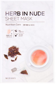 Missha Herb in Nude Sheet Mask with Nourishing Effect