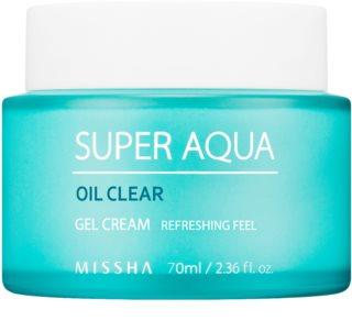 Missha Super Aqua Oil Clear hidratáló géles krém