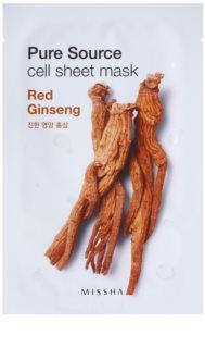 Missha Pure Source plátenná maska s energizujúcim účinkom
