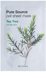 Missha Pure Source Refreshing and Purifying Sheet Mask