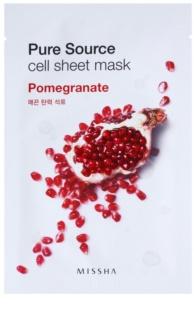 Missha Pure Source платнена маска със стягащ ефект