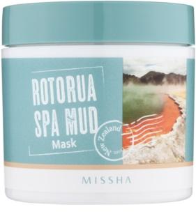 Missha Rotorua Spa Mud máscara de pele para poros dilatados