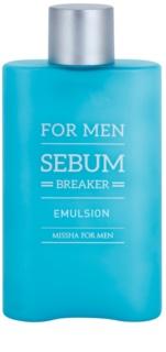 Missha For Men Sebum Breaker емулсия за лице  за мазна кожа