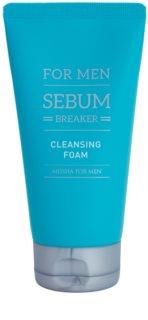 Missha For Men Sebum Breaker tisztító peeling hab zsíros bőrre