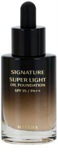 Missha Signature olajos folyékony make-up SPF 35