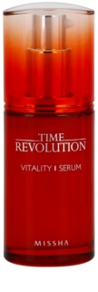 Missha Time Revolution Vitalising Skin Serum against expression wrinkles