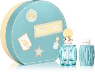 Miu Miu L'Eau Bleue подаръчен комплект I. за жени