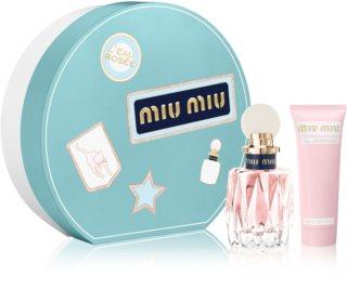 Miu Miu L'Eau Rosée подаръчен комплект I. за жени