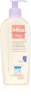 MIXA Atopiance nyugtató és tisztító olaj hajra és az atópiára hajlamos bőrre