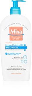 MIXA Hyalurogel intensywnie nawilżające mleczko do ciała dla skóry suchej i wrażliwej