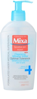 MIXA 24 HR Moisturising čisticí micelární voda