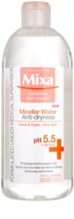 MIXA Anti-Dryness міцелярна вода проти сухості шкіри обличчя