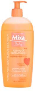 MIXA Baby pieniący się olejek pod prysznic i do kąpieli