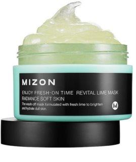 Mizon Enjoy Fresh-On Time masque revitalisant pour peaux relâchées à la lime