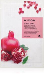 Mizon Joyful Time máscara em folha com efeito energizante