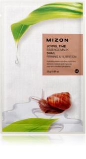 Mizon Joyful Time Máscara em folha com efeito nutritivo com efeito reafirmante