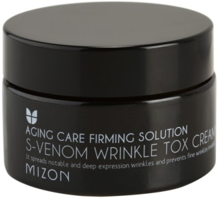 Mizon Aging Care Firming Solution crème anti-rides au venin de serpent