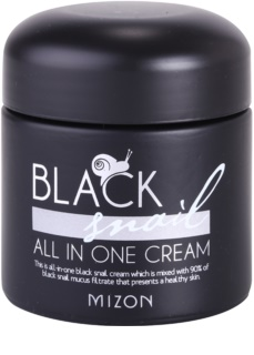 Mizon Black Snail All in One krem do twarzy z ekstraktem ze śluzu z ślimaka 90%