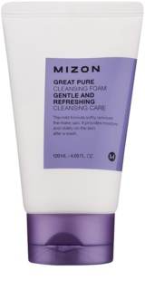 Mizon Great Pure mousse nettoyante visage