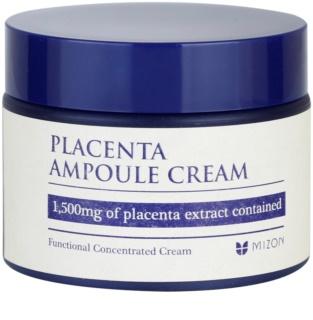Mizon Placenta Ampoule Cream krém  az arcbőr regenerálására és megújítására